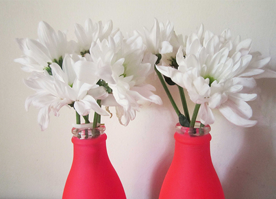 Diy neon flower vase peppermint twist hi everyone im so excited to bring you our first diy project today im going to start off with these really pretty 5 minute vases mightylinksfo